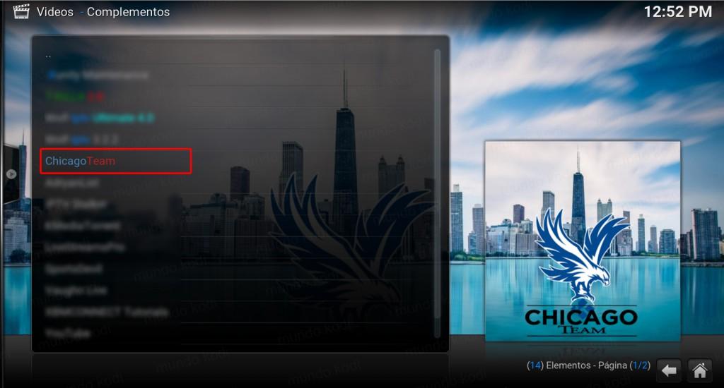 addon chicago team
