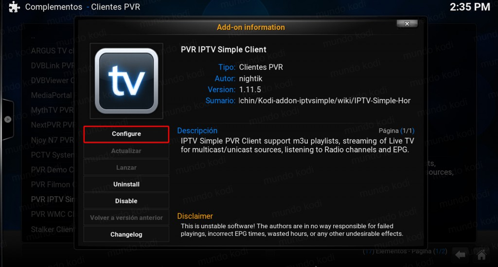 lista pvr total play. configure