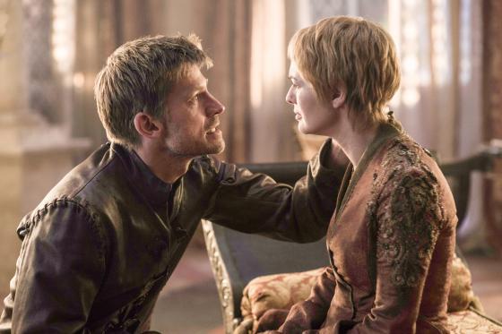 Jaime y Cersei