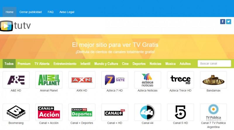 ver canales de TV Gratis