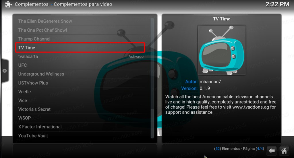 tv time en kodi. 4 tv time repo