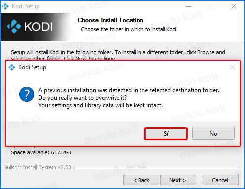 actualizar kodi. install5