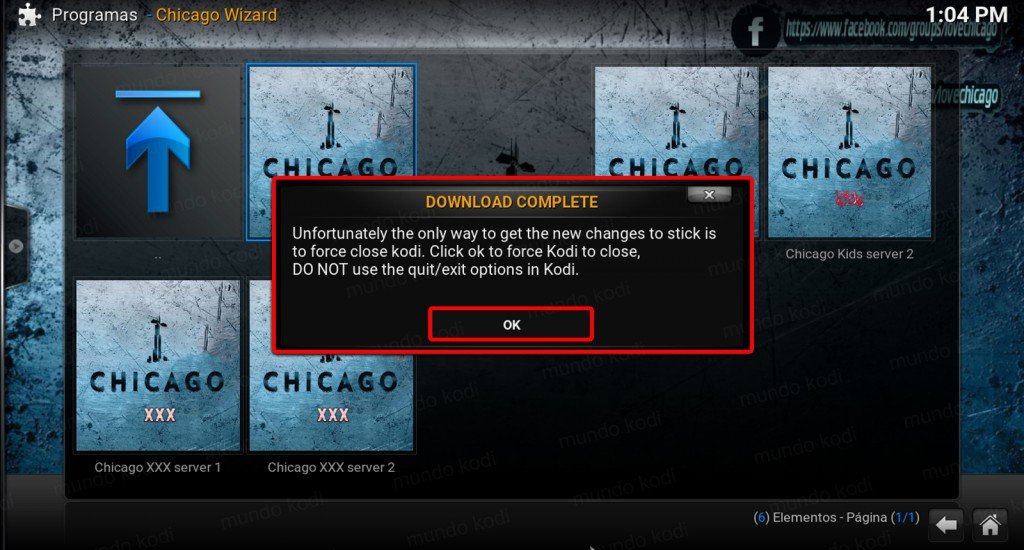 12 Descarga completa chicago en kodi