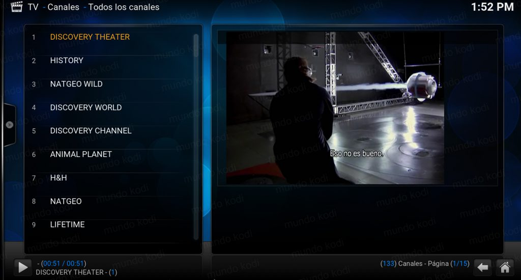 lista pvr total play 5 prueba