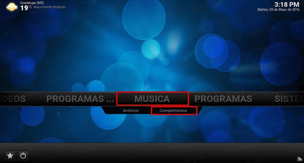 6 musica complementos