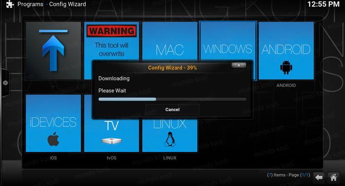 TVMC Una Version Preconfigurada de Kodi 8 configurando
