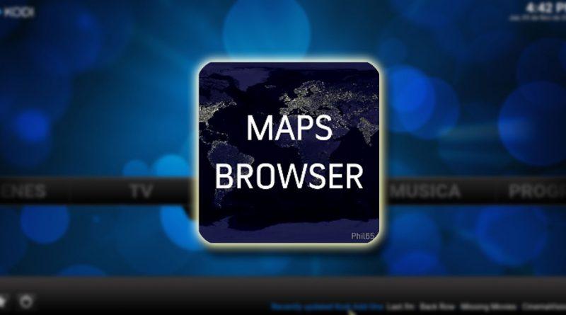 google maps en kodi