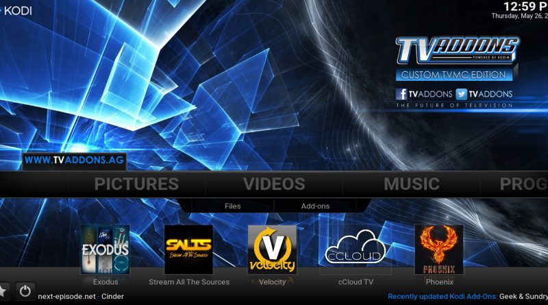TVMC Una Version Preconfigurada de Kodi