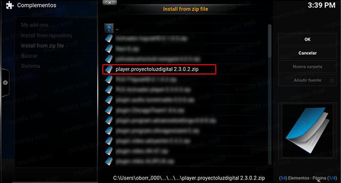 6 ruta playerPLD