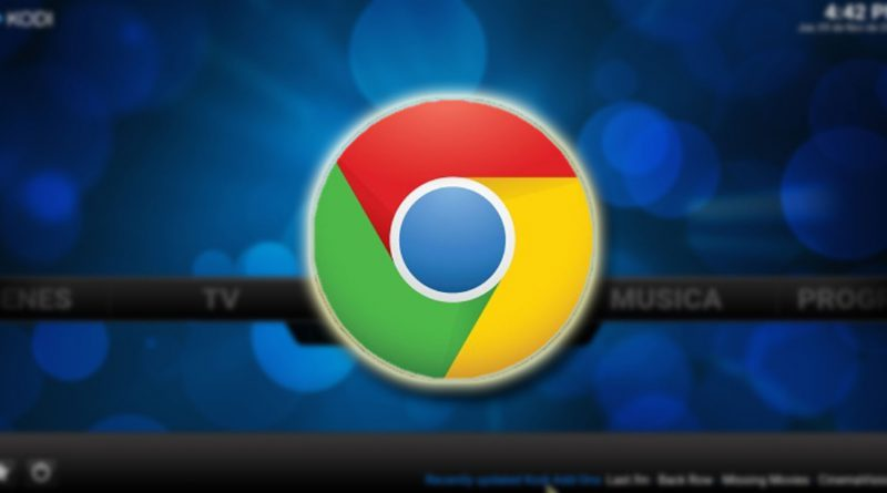 Chrome Launcher en Kodi