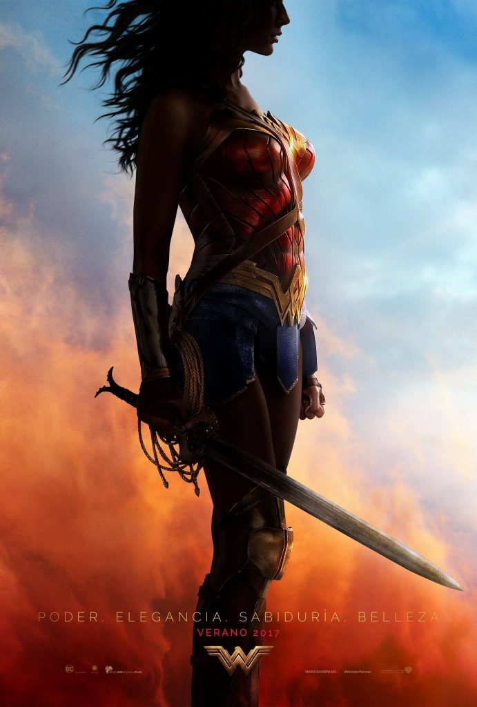 Nuevo poster y trailer de Wonder Woman para Comic Con