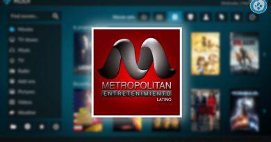 Addon Metropolitan en Kodi
