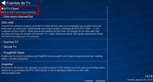7 IPTV Client