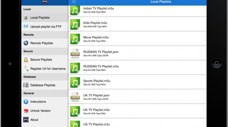 listas IPTV para Android y iOS