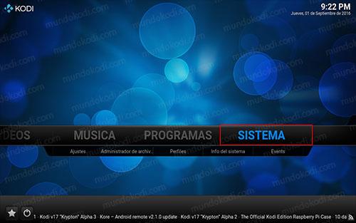 1 sistema