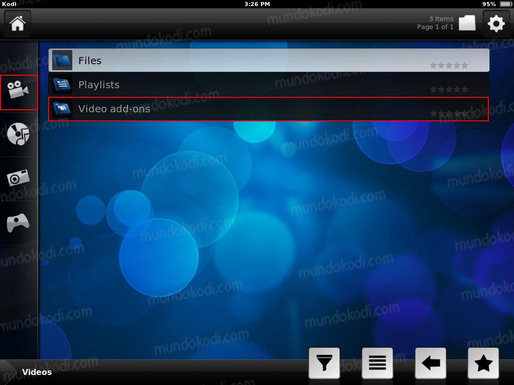Instalar Kodi en iPhone, iPad y iPod 24-video-addons
