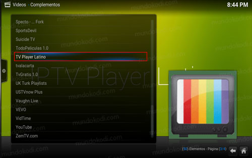 Como Instalar Addon TV Player Latino en Kodi [TV, Películas