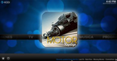 addon motor replays en kodi