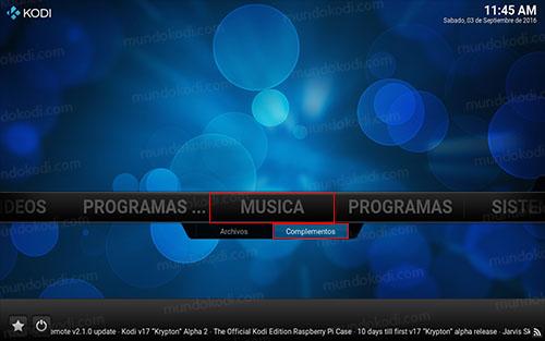 8 musica complementos