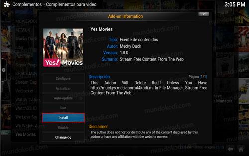 addon yes movies en kodi 4-install