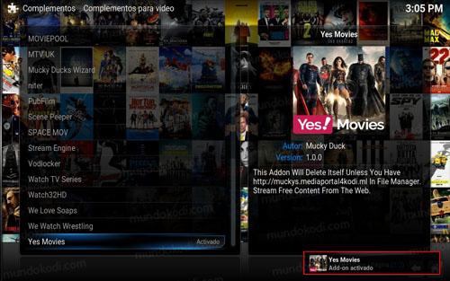 addon yes movies en kodi 5-addon-activado