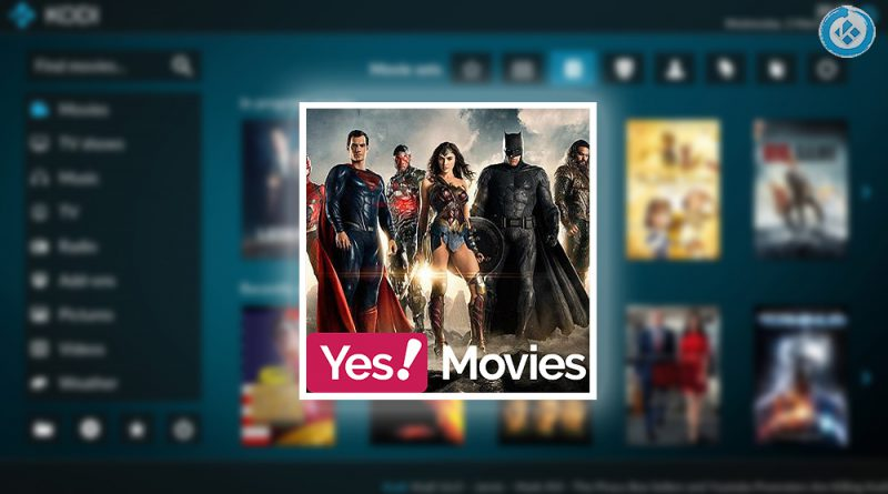 addon yes movies en kodi