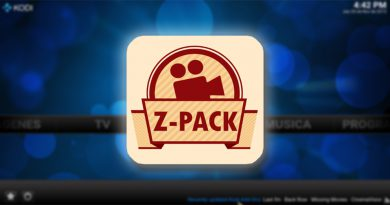 addon Z-Pack en Kodi