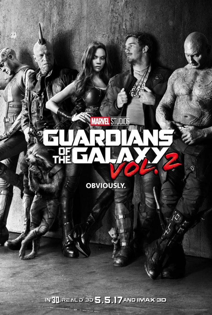 Poster y nuevo teaser trailer de Guardianes de la Galaxia 2