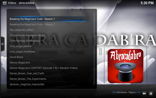 addon abracadabra en kodi