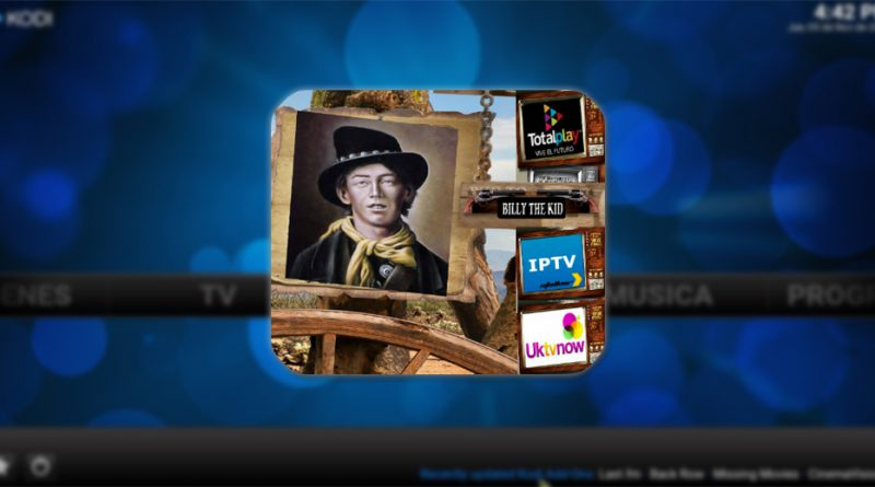 addon billy the kid en kodi