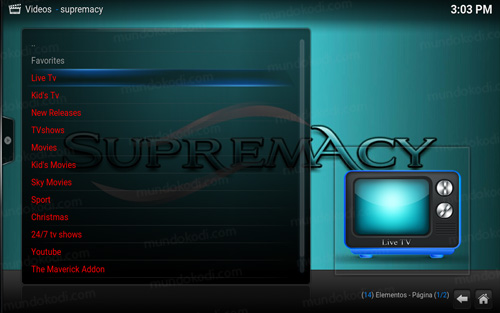 addon supremacy en kodi