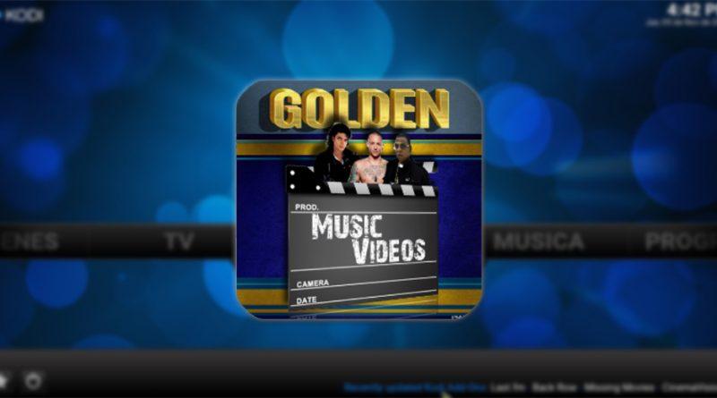 addon golden music pro en kodi