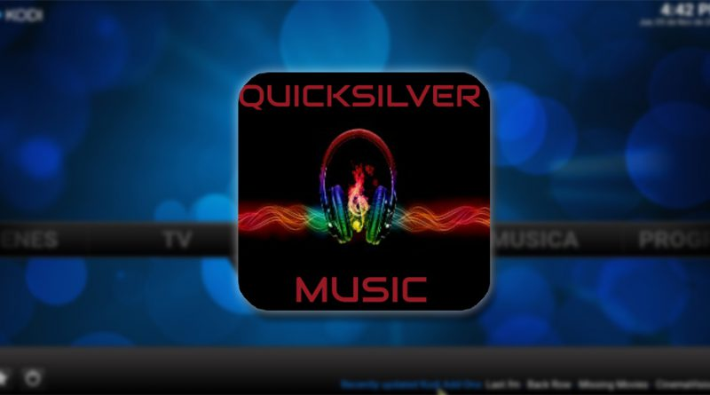 addon quicksilver music en kodi