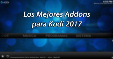 mejores addons para kodi 2017