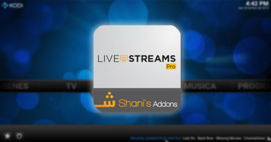 Addon LiveStreamsPro en Kodi