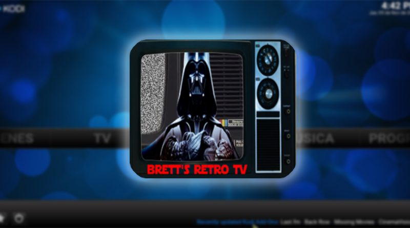 addon Bretts Retro TV en Kodi