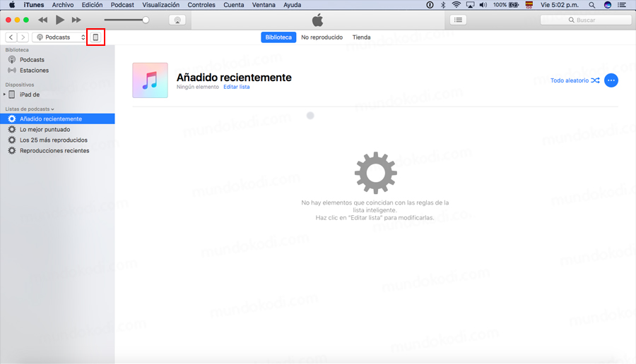 Pasar Addons a Kodi en iOS