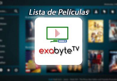 Como Instalar Lista de Películas Exabyte TV en Kodi [+2000 Películas en Latino]