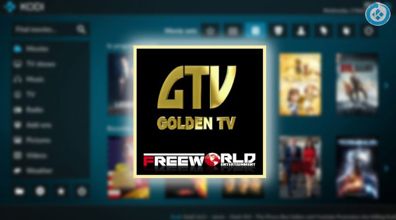 addon golden tv en kodi