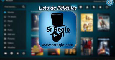Lista de Películas Sr Regio