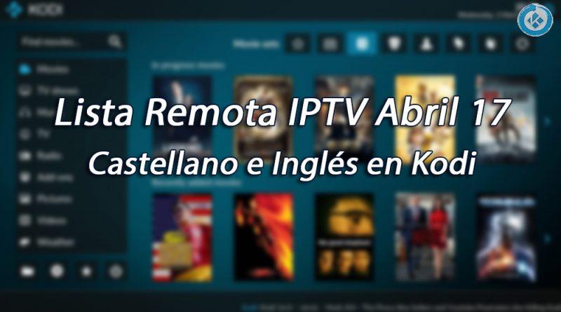 Lista IPTV Remota