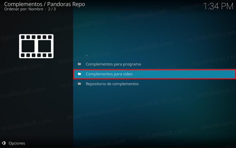 addon box pandora en kodi