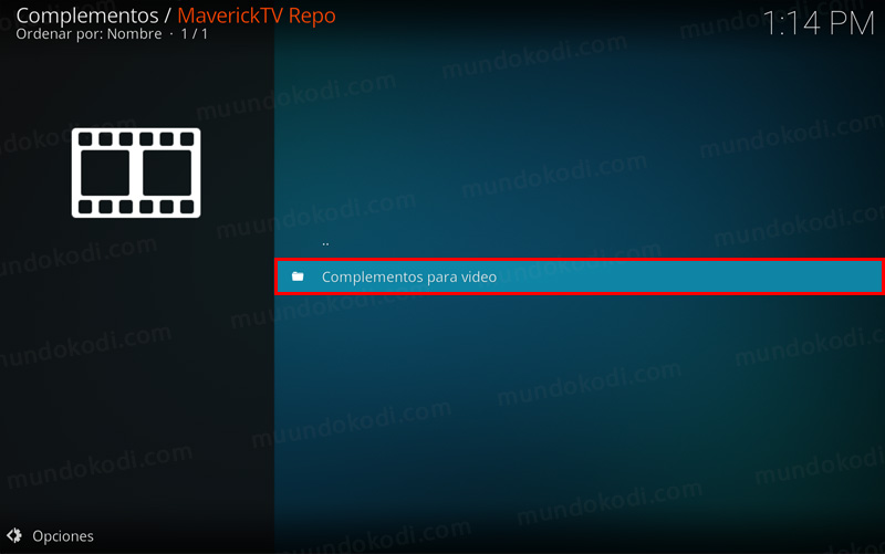Addon The Black Hat en Kodi