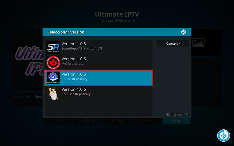 Cómo Instalar Addon Ultimate IPTV en Kodi [Listas IPTV] - Mundo Kodi