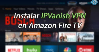 IPVanish VPN en Fire TV