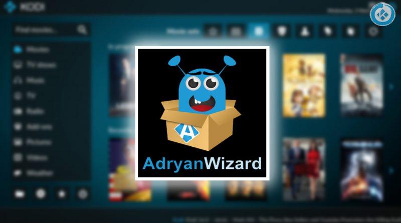 AdryanWizard en Kodi