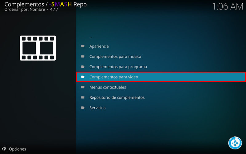 repositorio smash en kodi