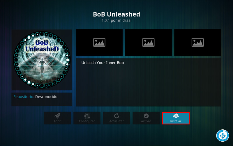 addon bob unleashed en kodi