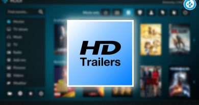 hd movie trailers en kodi