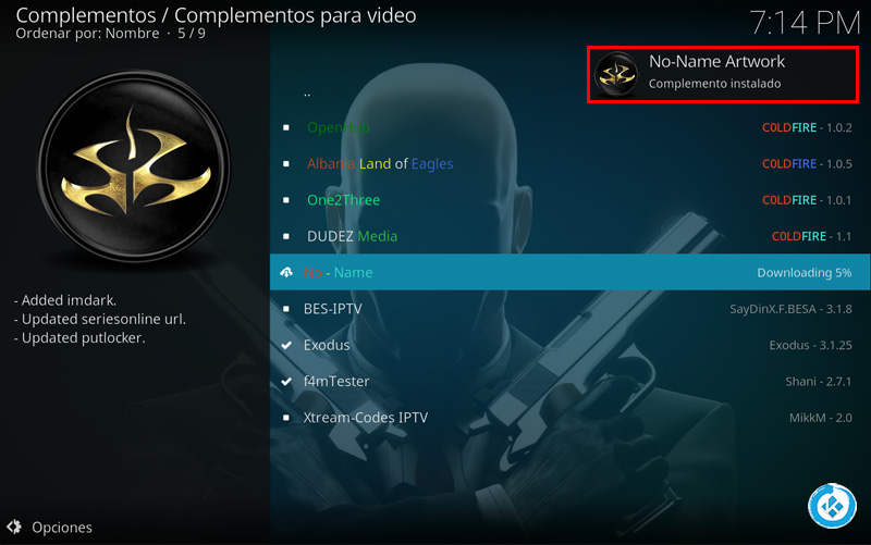 addon no name en kodi